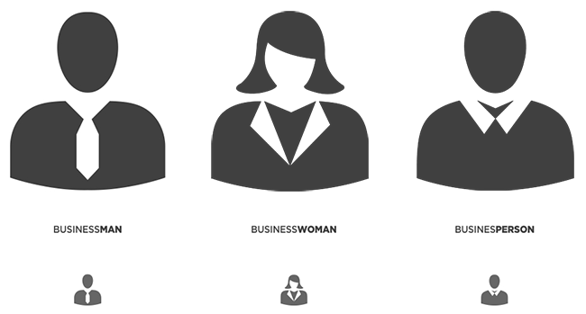 business people icons png