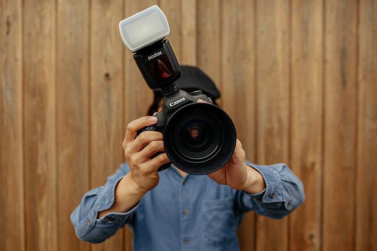 Foto con flash