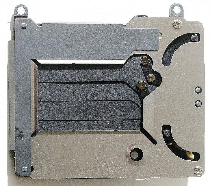 Obturador mecánico de cámara reflex Canon EOS 20D