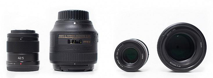Panasonic 42.5mm f/1.7 vs Nikon 85mm f/18
