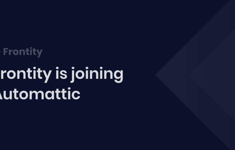 Frontity se une a Automattic, la empresa matriz de WordPress.com - WordPress Directo