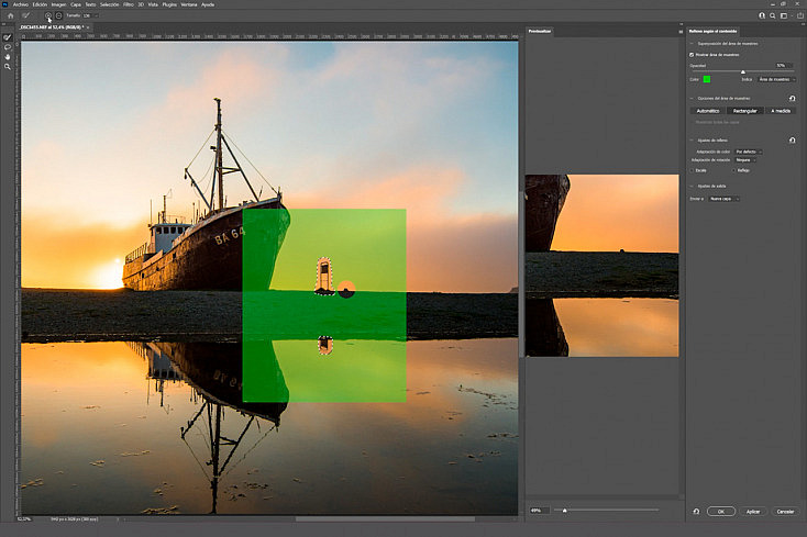 Rellenar Según Contenido: Elimina Elementos en tus Fotografías con un Solo Click en Photoshop 1